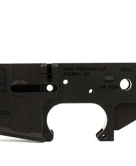 Aero AR15 Stripped Lower Receiver, Special Edition: PEW, Aero Precision