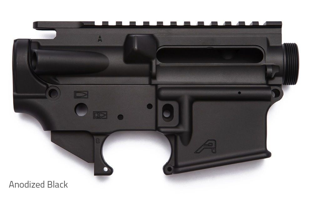 Aero AR15 Receiver Set, Aero Precision, Anodized Black