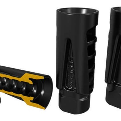 Hiperfire HIPERCOMP™ 9mm, Muzzle Compensator, 9mm, 1/2-28, with crush washer