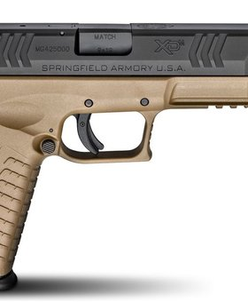 "Springfield Armory Springfield XDM 9mm 4.5""FDE Threaded Barrel"