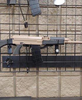 "CSA CSA VZ-58 Sporter 18.6"", Desert, 5.56/.223"