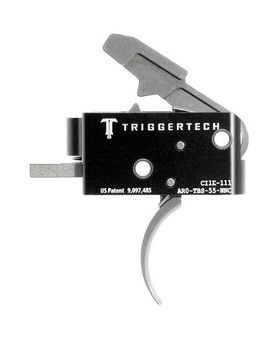 Trigger Tech Combat Curved AR15 Trigger 5.5