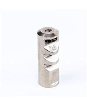 S&J Hardware Spatha Gladius Muzzel Break,, Polished Stainless, .223/5.56