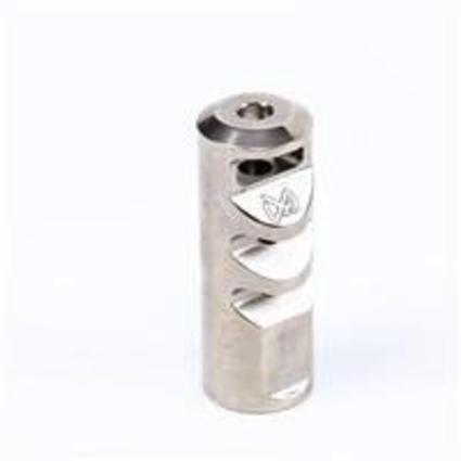 S&J Hardware Spatha Gladius Muzzel Break,, Polished Stainless, .223/5.56