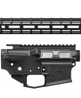 "Aero 15"" M4E1 Builders Kit with M4E1-Threaded Upper and S-One ATLAS Handguard, M4E1 Lower"