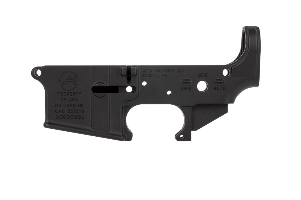 Aero M4A1 Special addition with Assembled upper w/forward assist- Anodized Black, Aero Precision