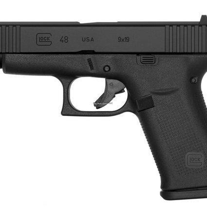 Glock Glock 48 9x19 Slim Line Fixed Sights, Black
