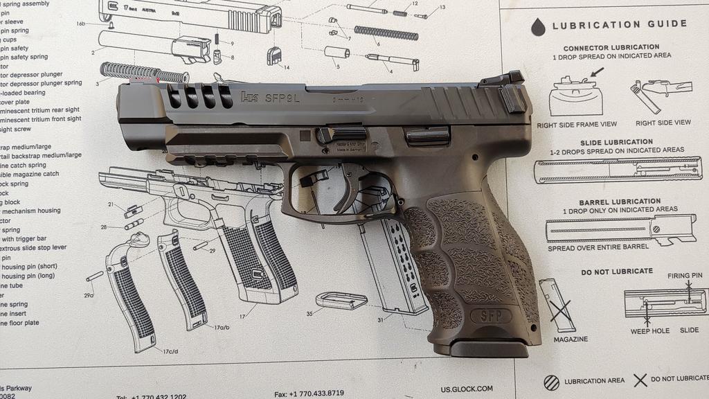 Heckler & Koch H&K SFP9L-SF 9mm
