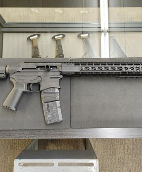 "Maple Ridge Armoury MRA Renegade Complete Rifle, 16"" 5.56x45, 15"" M4E1 Quad Rail Handguard, Magpul Furniture"