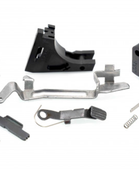 Poly80 Frame Parts Kit w/ Trigger - BLK