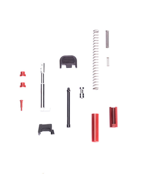 Poly80 Slide Parts Kit -Red