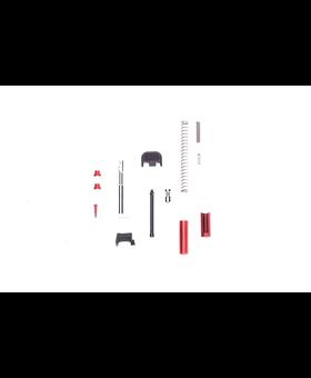 Poly80 Slide Parts Kit -Red
