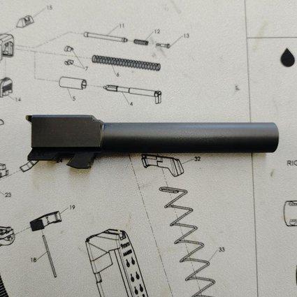 Poly80 P80 9mm G17 Barrel Black Nitride