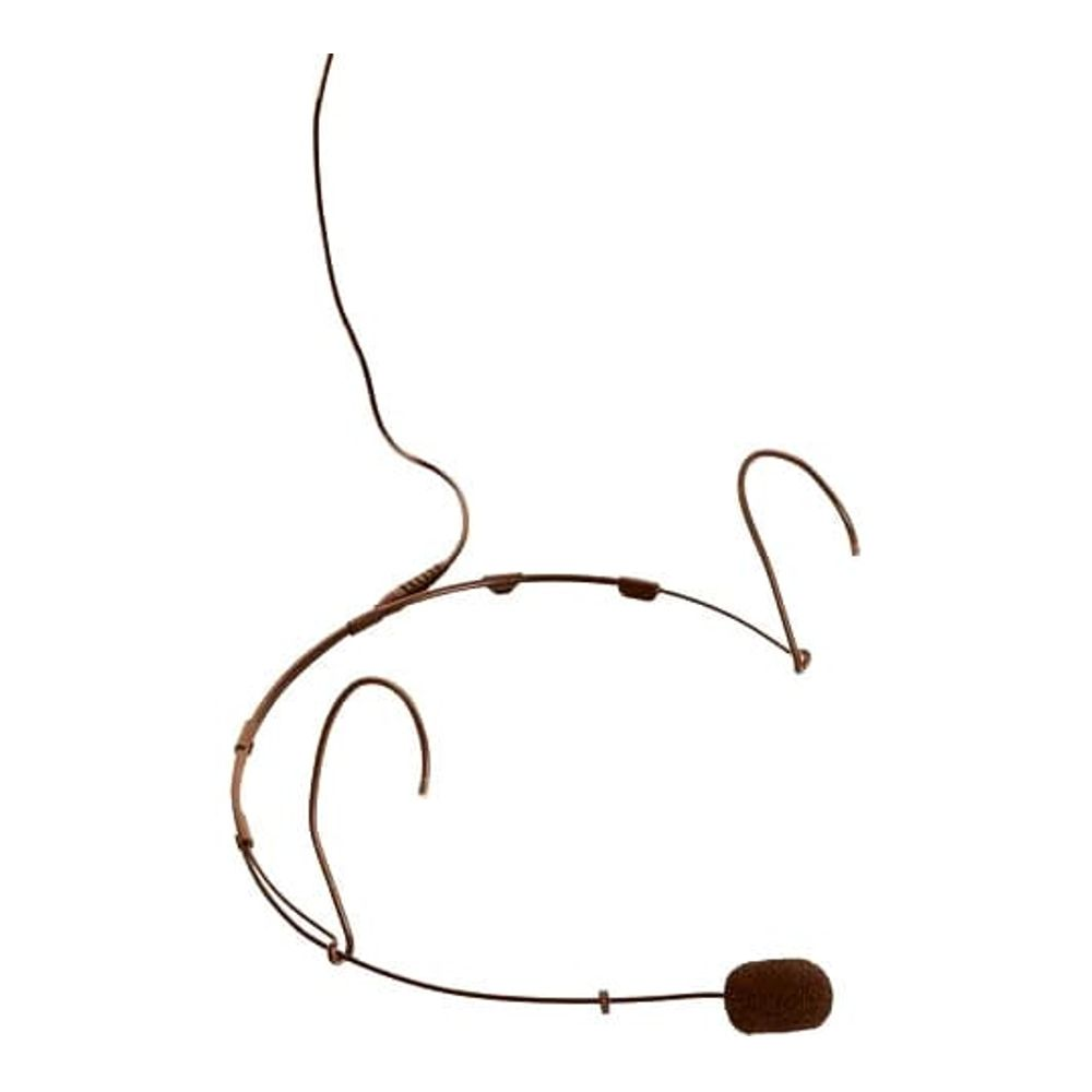 DPA 4088-C Classic Directional Headset, Brown, Dual Ear, Microdot