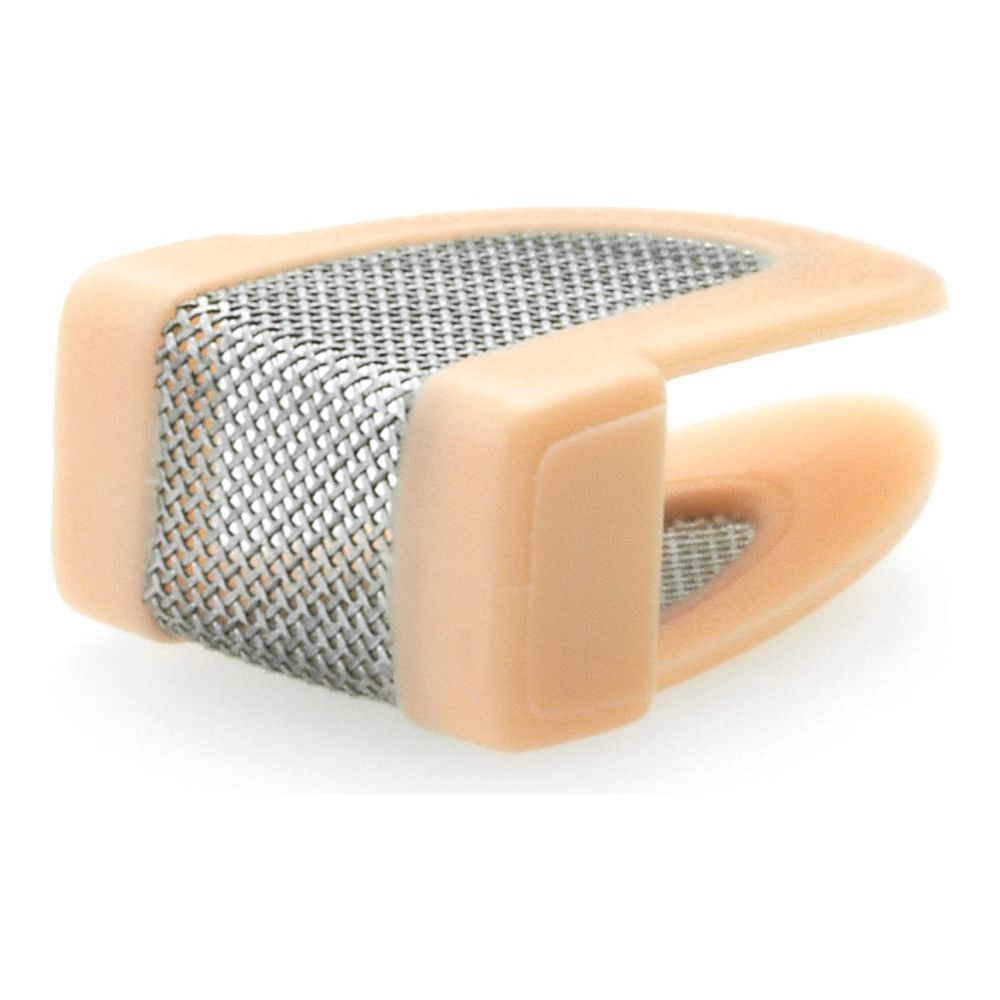 DPA Directional Headset, Beige, Long 120 mm, Single Ear, Hardwired 3.5 mm Locking Ring for Senn