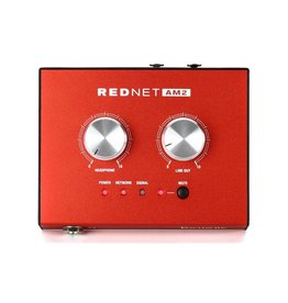Focusrite RedNet AM2 Stereo Dante Headphone Amplifier
