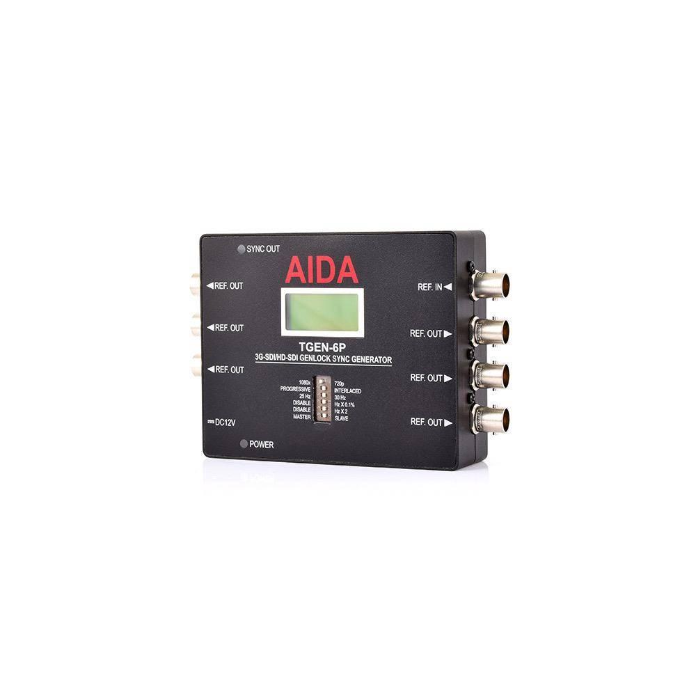 AIDA-TGEN-6P 3G-SDI/HD-SDI Tri-Level Genlock Sync Generator