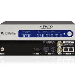 Ferrofish Verto MX 64 channel MADI <> Dante format converter