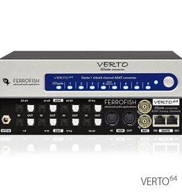 Ferrofish Verto 64 64 channel ADAT <> Dante format converter