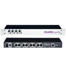 "Klang Technologies Klang QUELLE 19"" Rack Mount - Dante Headphone Amp."
