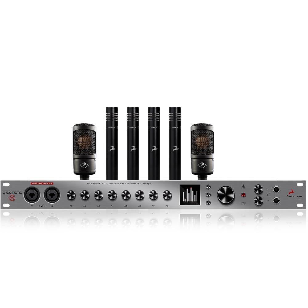 Antelope Audio Discrete 8 + Edge Solo (2 pcs.) + Verge (4 pcs.)