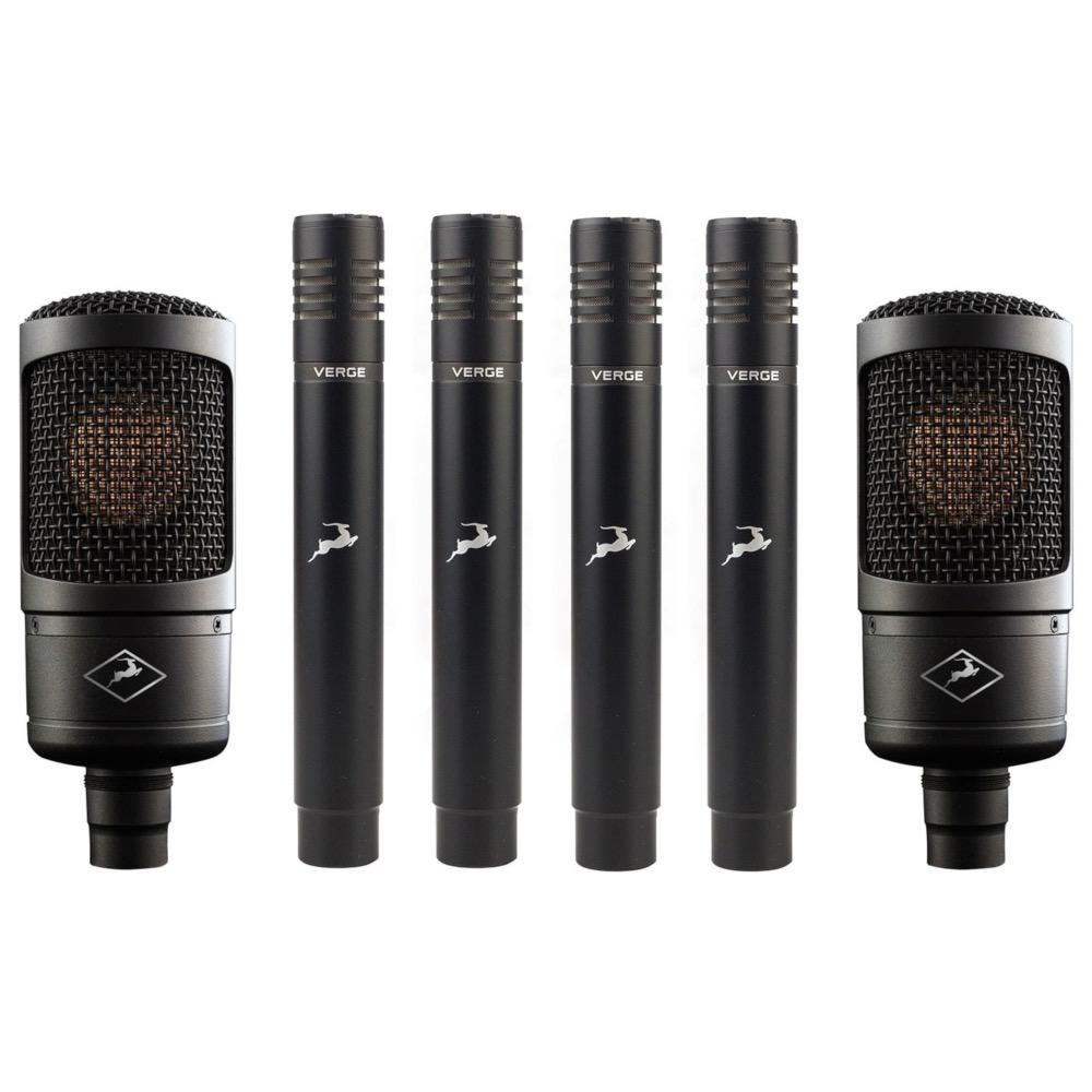 Antelope Audio Antelope Audio Microphone Bundle 2 Edge Solo and 4 Verge