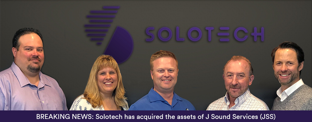 Solotech strengthens its positioning in the United States with the acquisition of J Sound Services (JSS)