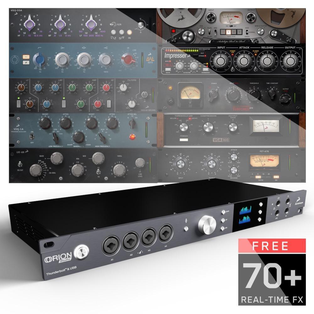 Antelope Audio Orion Studio, rev. 2017 ThunderboltTM and USB Audio Interface