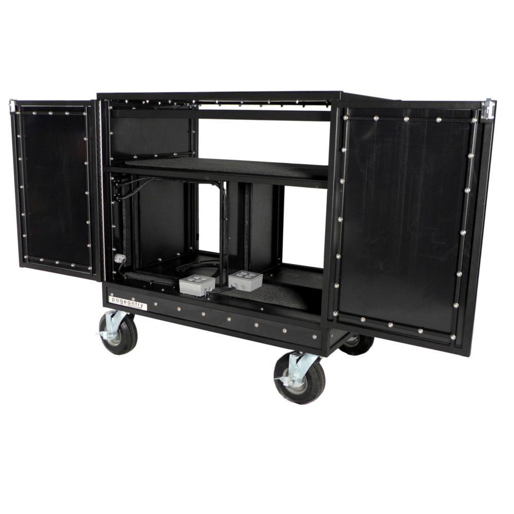 Pageantry Innovations Pageantry Innovations MC-20 Double Mixer Cart