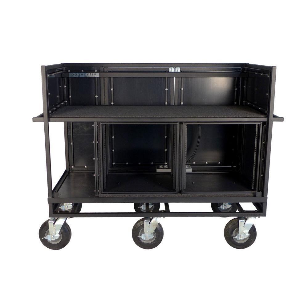 Pageantry Innovations Pageantry Innovations MC-25 Extended Double Mixer Cart