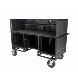 Pageantry Innovations Pageantry Innovations KC-35 Seated Synth/Mixer Combo Cart