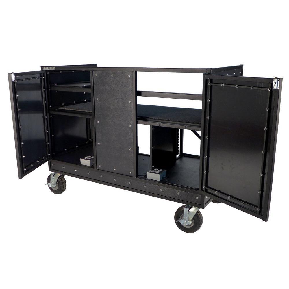 Pageantry Innovations Pageantry Innovations KC-35 Seated Synth/Mixer Combo Cart