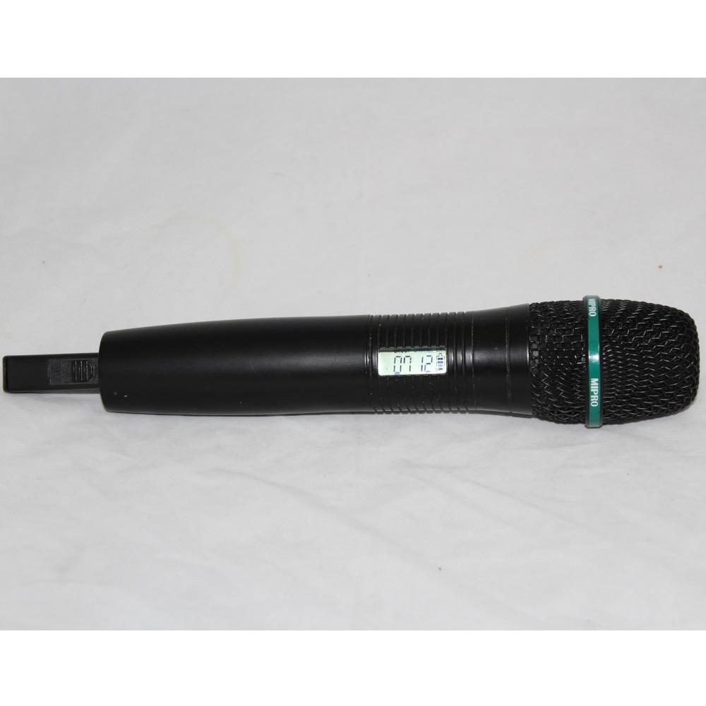 MIPRO ACT-707HM-2 668-692 MHz wireless transmitter handlheld microphone. Includes clip.