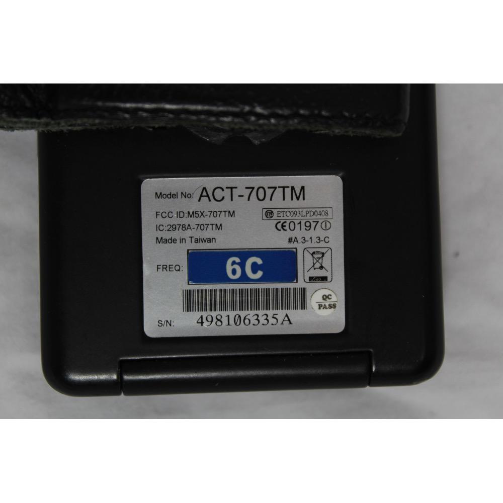 MIPRO ACT-707TM 668-692 MHz wireless transmitter belt-pack.