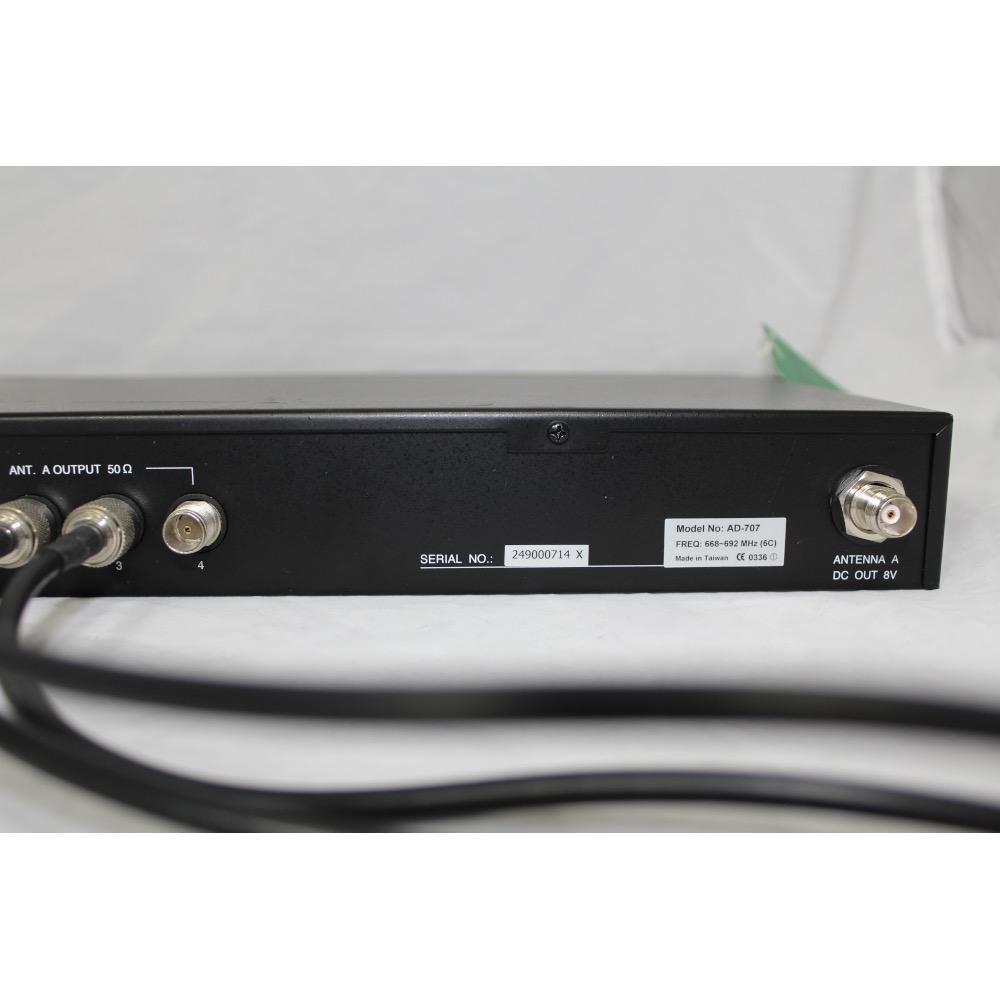 MIPRO AD-707-6C UHF, 4-channel antenna divider. 668-692 MHz.