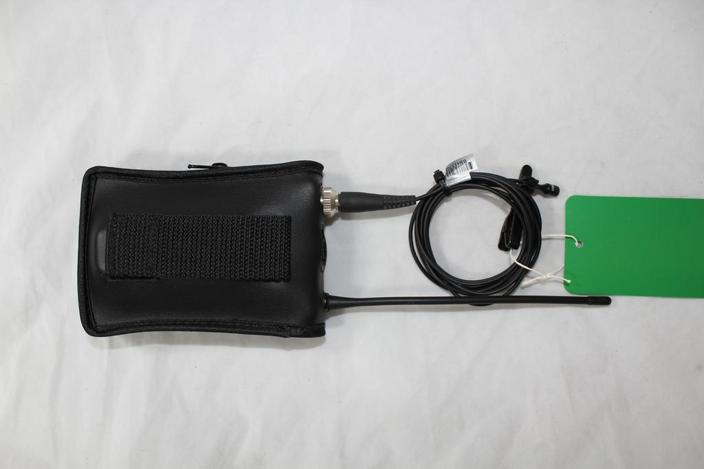 MIPRO ROL-ACT-7Ta-2 482-698 MHz wireless transmitter belt-pack. Includes MU-55L mic and soft case.