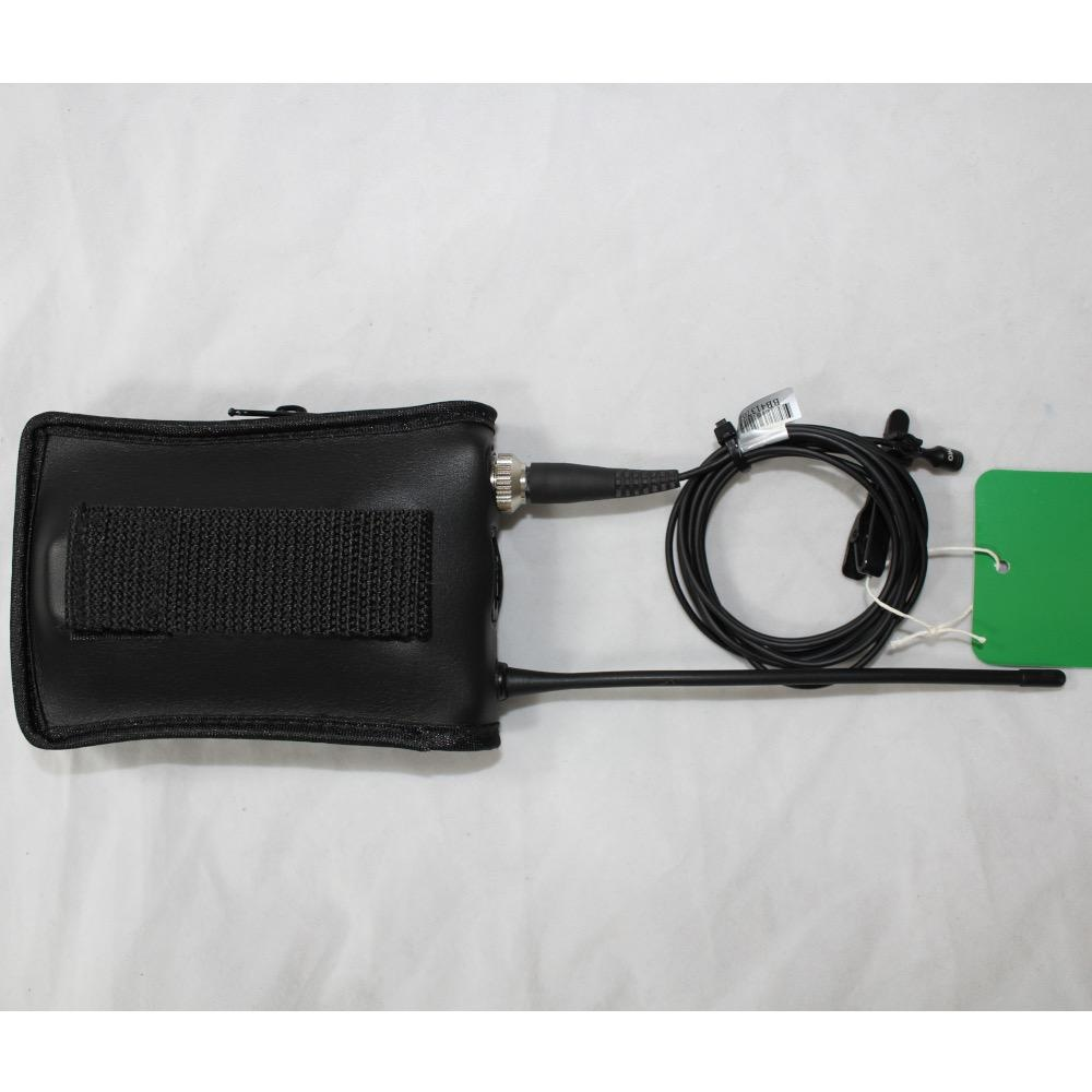 MIPRO MIPRO ACT-7Ta-4 482-698 MHz wireless transmitter belt-pack. Includes MU-55L mic and soft case.