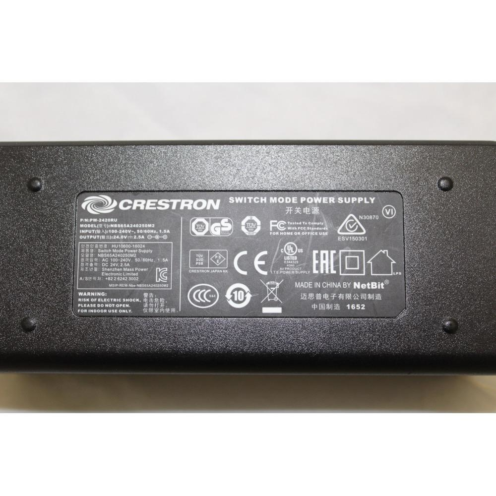 Crestron Creston 2420RU 24 VDC, 2.5 A Power Supply
