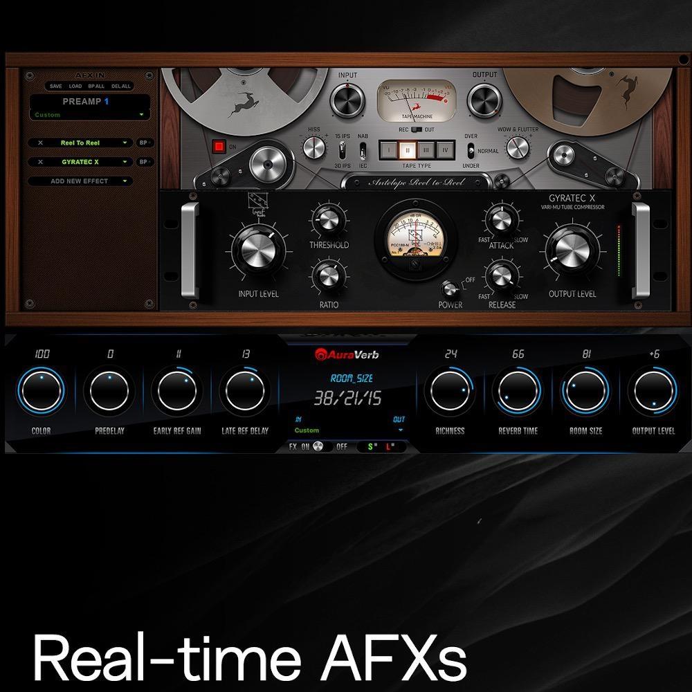 Antelope Audio Orion Studio Synergy Core 16x26 Professional TB 3 & USB 2 ADAT/SPDIF & FPGA