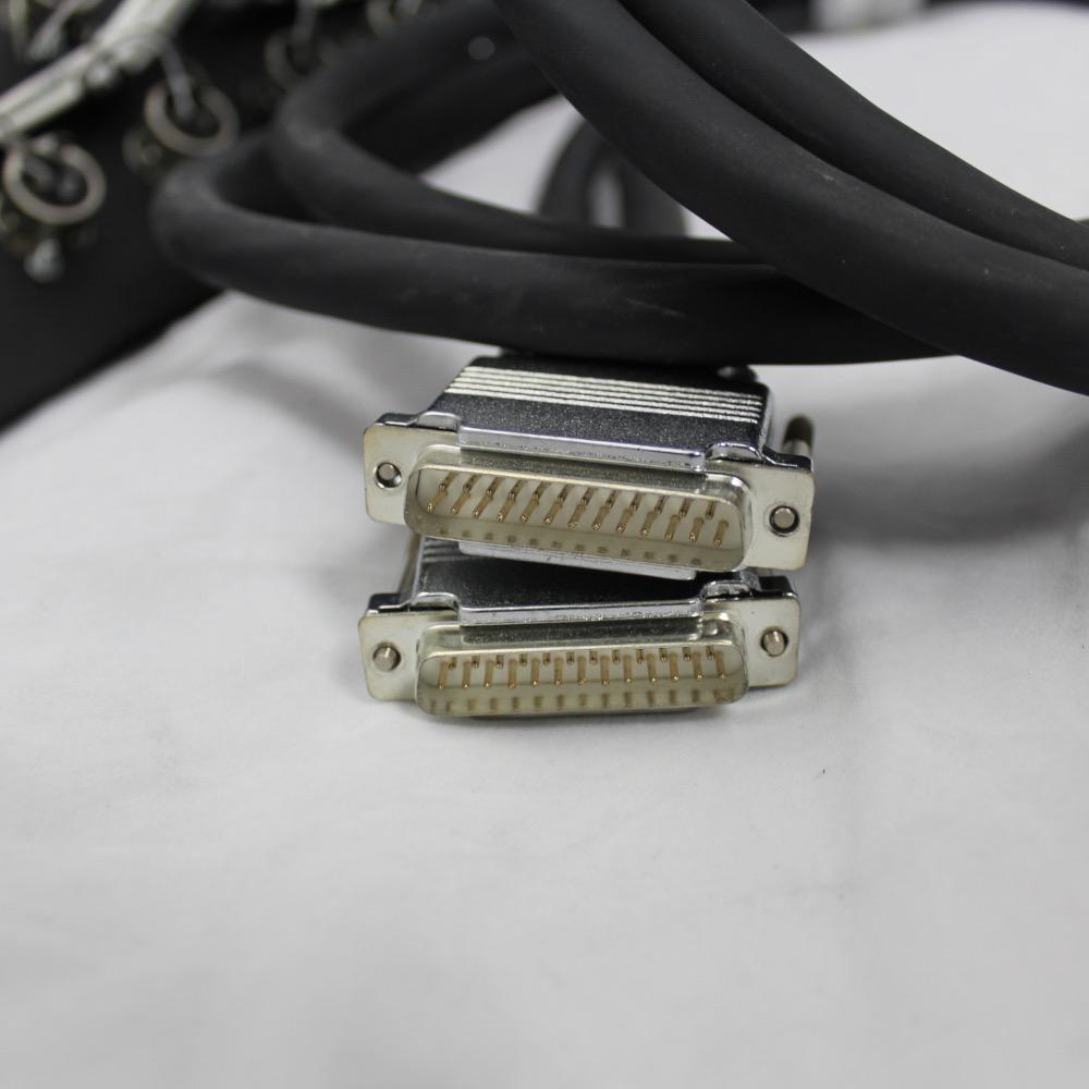 RapcoHorizon 3U, Male XLR Patch Panel with 16 Jacks