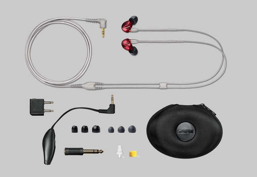 Shure Shure SE535LTD Limited Edition Red Sound Isolating™ Earphones