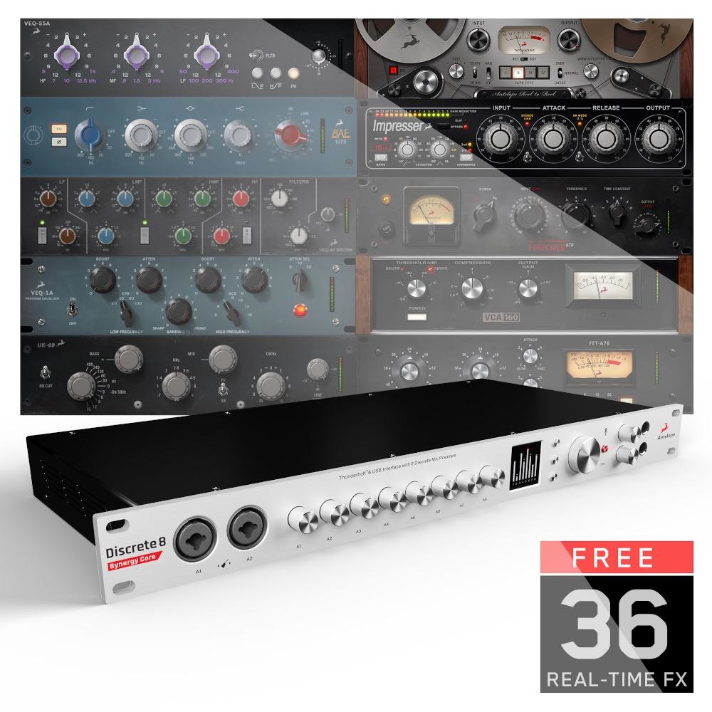 Antelope Audio Antelope Audio Discrete 8 Synergy Core