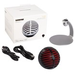 Shure Shure MV5/A-B-LTG  MV5 Digital Condenser Microphone (Black) + USB & Lightning Cable