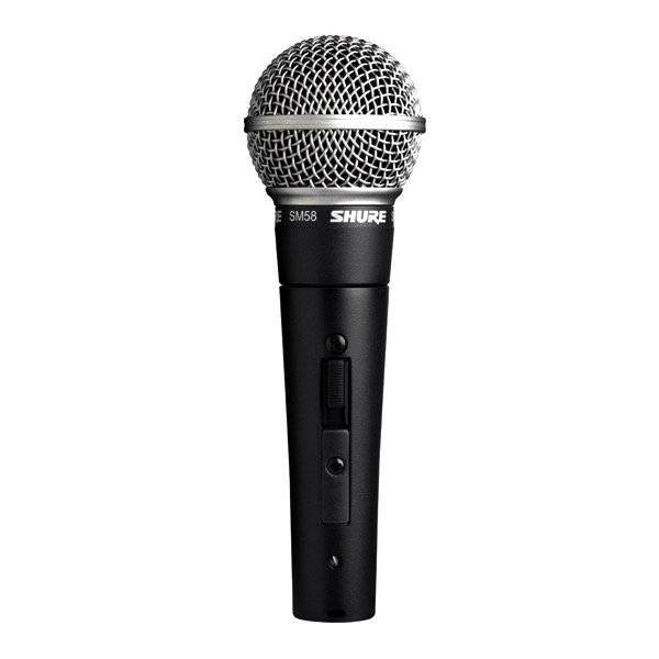 Shure Shure SM58S Cardioid Dynamic, On-Off Switch