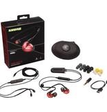Shure SE535LTD+BT2 Red Earphones