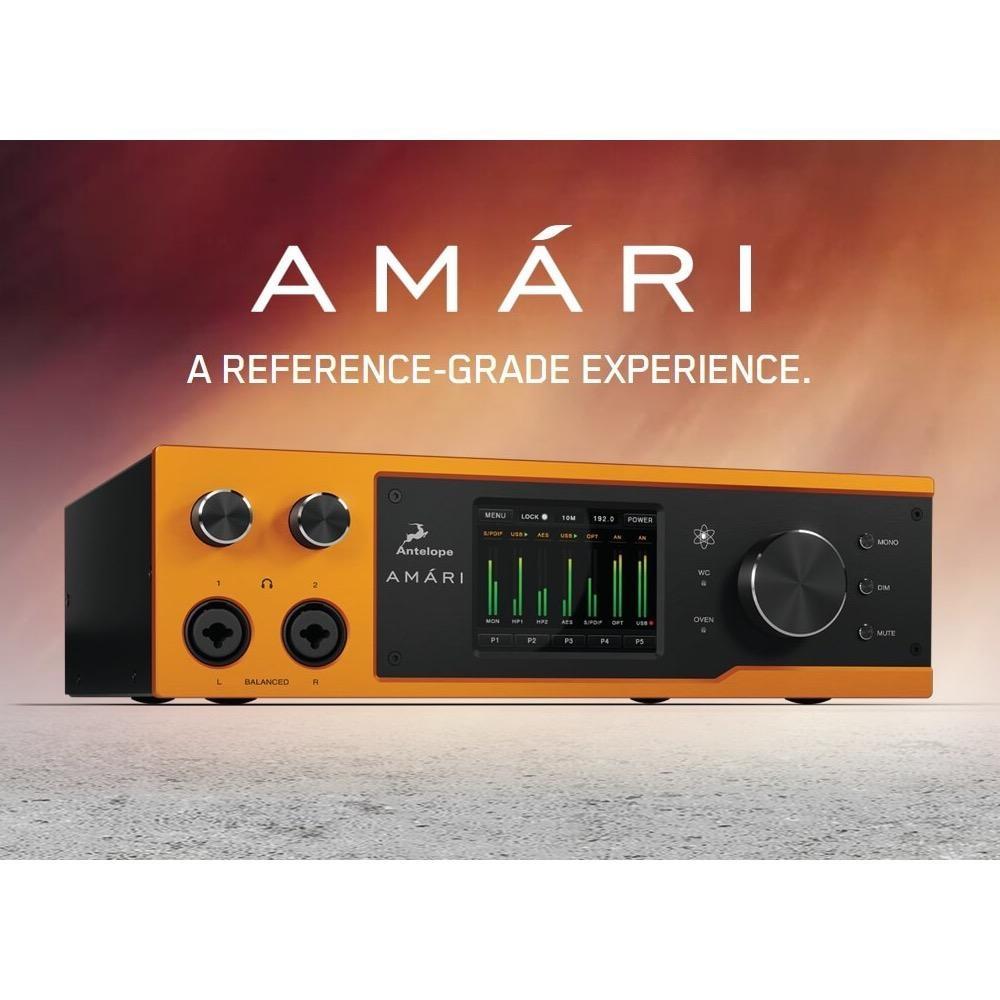 Antelope Audio Amari 2x6 Reference AD/DA Converter/USB 3.0 Audio Interface