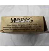 "Mustang MV-TILT1 Tilt mount for up to 24"" flat panel display."