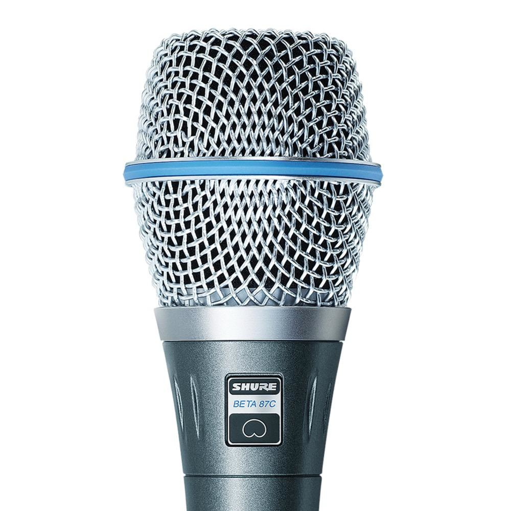 Shure Shure BETA87C Cardioid Condenser, for Handheld Vocal Applications