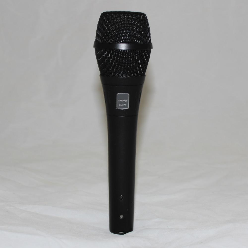 Shure Shure SM87A Supercardioid Condenser Handheld Vocal Microphone