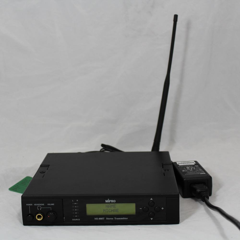 MIPRO MIPRO MI-808T-Stereo Wireless Transmitter.
